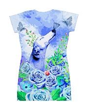 Greyhound Love Garden All-over Dress back