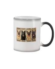 German Sherpherd be strong Color Changing Mug thumbnail