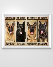 German Sherpherd be strong 36x24 Poster poster-landscape-36x24-lifestyle-02