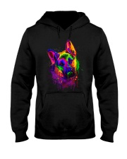 German shepherd color Hooded Sweatshirt thumbnail