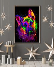German shepherd color 16x24 Poster lifestyle-holiday-poster-1