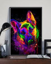 German shepherd color 16x24 Poster lifestyle-poster-2