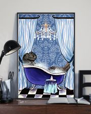 Great Dane Bathroom 11x17 Poster lifestyle-poster-2