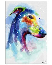 Greyhound Water Color Art Splash Z123 11x17 Poster front