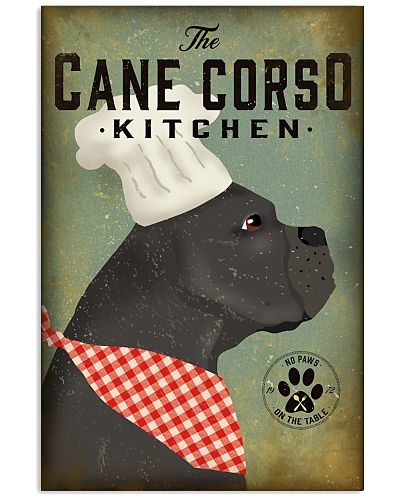 Cane Corso The Kitchen