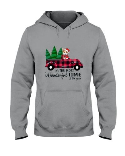 Corgi Car christmas