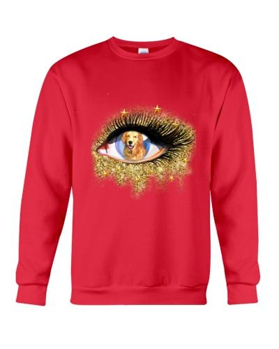 Golden retriever eye