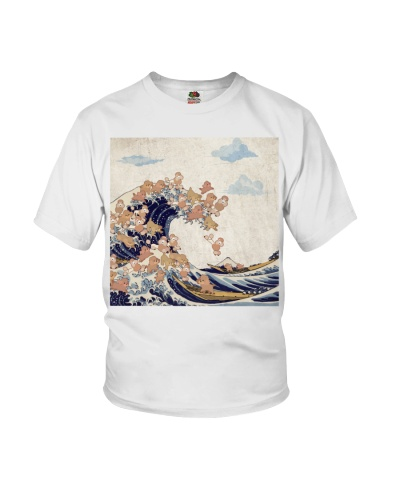 Poodle Great Wave