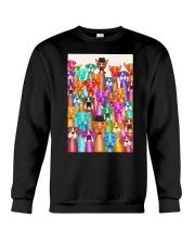Boxer Poster Multi Crewneck Sweatshirt thumbnail