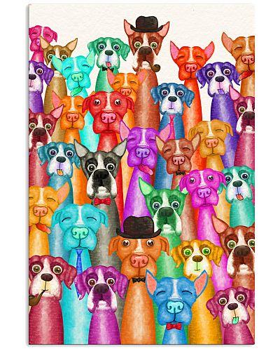 Boxer Poster Multi