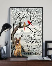 German Sherpherd They walk  beside us every day 24x36 Poster lifestyle-poster-2