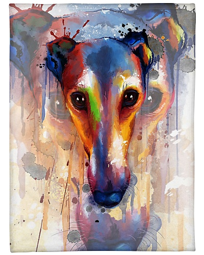 Greyhound Water Color
