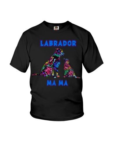 Labrador Dog Mama Flower