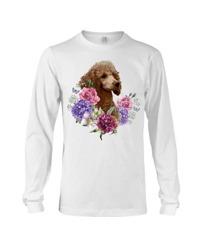 Poodle flower