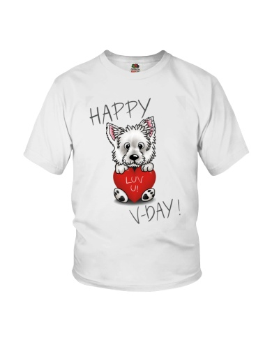 Westie Happy Valentine Day