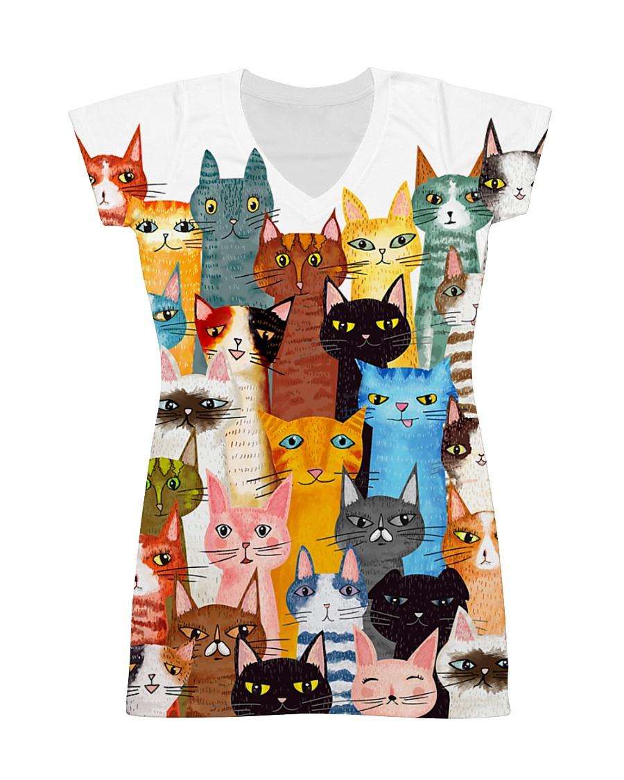 CAT MINI All-over Dress