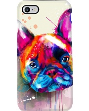 French bulldog Face Art Flow C10 Phone Case thumbnail