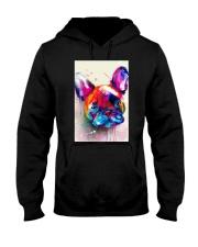 French bulldog Face Art Flow C10 Hooded Sweatshirt thumbnail