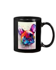 French bulldog Face Art Flow C10 Mug thumbnail
