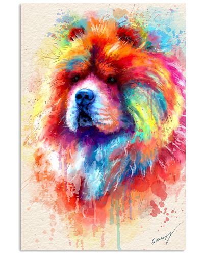 Chow Chow  Water Color