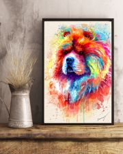 Chow Chow  Water Color  11x17 Poster lifestyle-poster-3