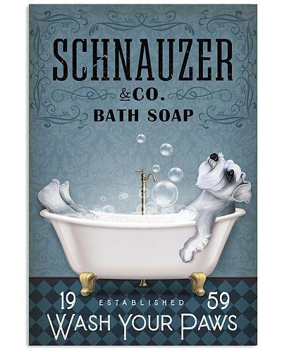 Schnauzer Water Bathtub