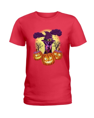 Doberman Halloween