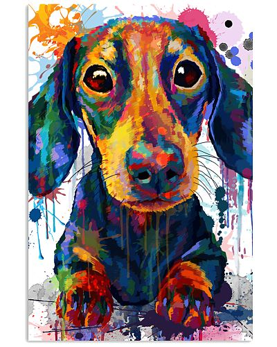 Dachshund Water Color
