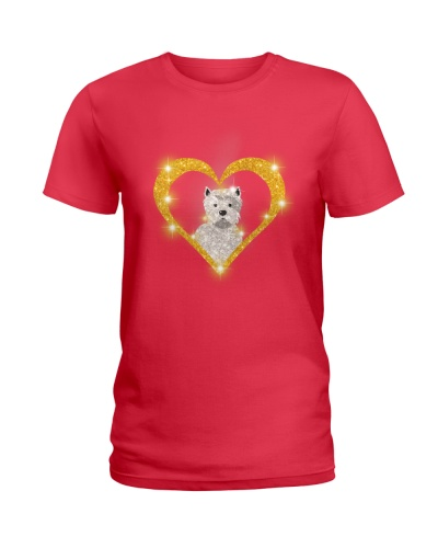 westie Christmas Printed Product