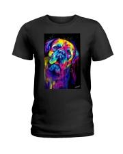 Dogue Water Color  Ladies T-Shirt thumbnail
