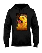 Labrador Water Color Art Happy Face Hooded Sweatshirt thumbnail