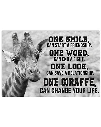Giraffe One Smile