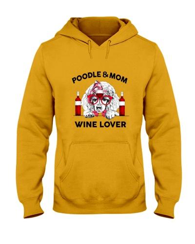 Poodle Mom Wine Lover