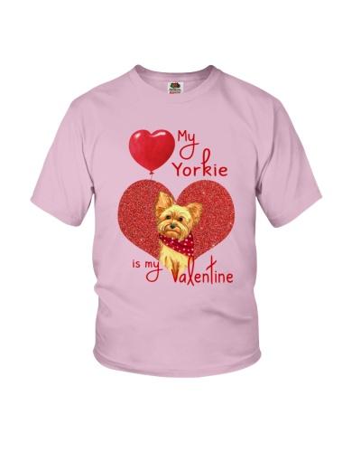 Yorkie My Valentine