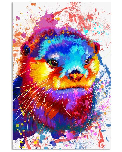 otter color poster