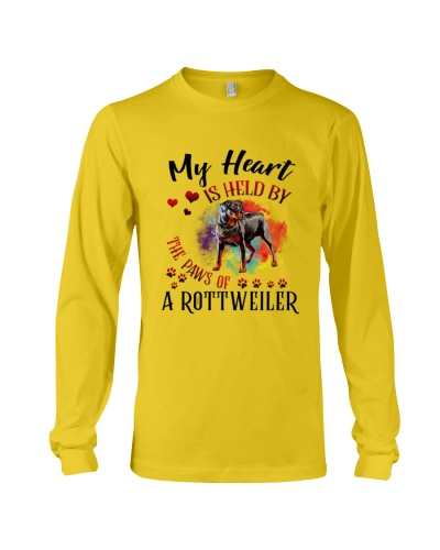 My Heart Is Held BY Rottweiler Dog