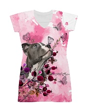 Staffordshire Dog Flowers All-over Dress thumbnail