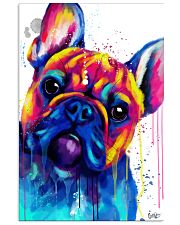 French bulldog Face Art B10 11x17 Poster front