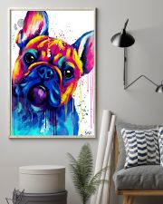 French bulldog Face Art B10 11x17 Poster lifestyle-poster-1