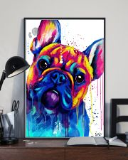 French bulldog Face Art B10 11x17 Poster lifestyle-poster-2