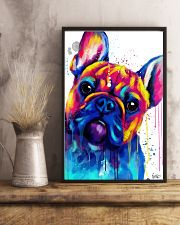 French bulldog Face Art B10 11x17 Poster lifestyle-poster-3