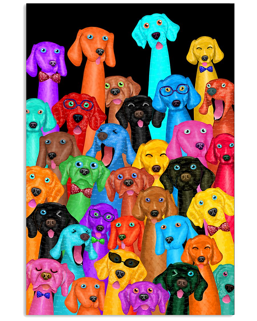 Weimaraner Dog Multie 11x17 Poster