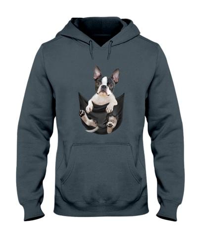 Boston Terrier pocket all