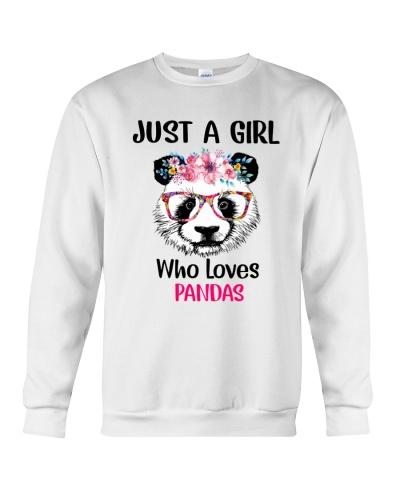 panda just a girl