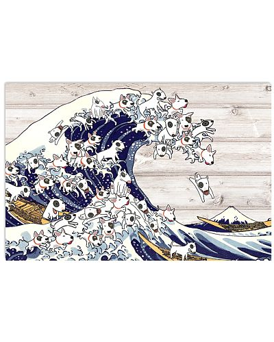 Bull Terrier the great wave of dog