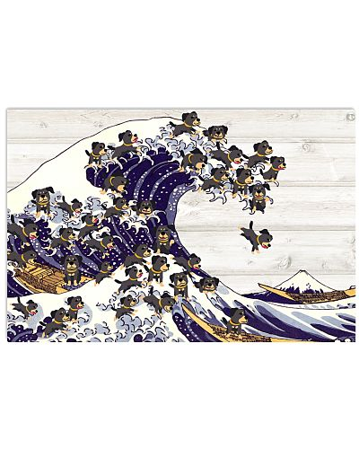 Rottweiler great wave