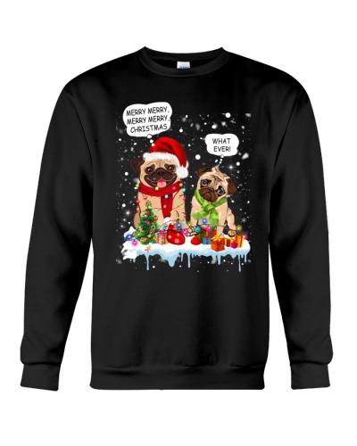 Pug christmas