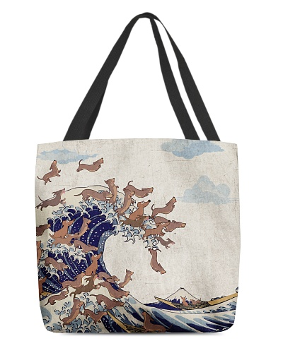 Dachshund Great Wave
