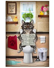 Cat Toilet Poster 11x17 Poster front