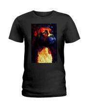 Boxer Poster Great Art V3 Ladies T-Shirt thumbnail